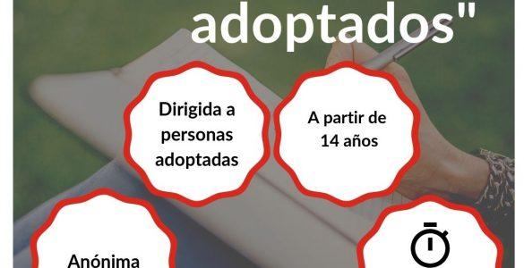 """Encuesta """"El sentir de los adoptados"""", anónima, dirigida a personas adoptadas, a partir de 14 años, 10 minutos. La Voz de los Adoptados"""